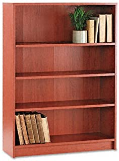 product image for HON 1870 Series Bookcase, 4 Shelves, 36 W by 11-1/2 D by 48-3/4 H, Henna Cherry