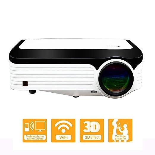 Proyectores para Home Cinema Full HD 1080P Soporte de proyección ...