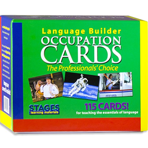 Stages Learning Materials Language Builder Occupation Card