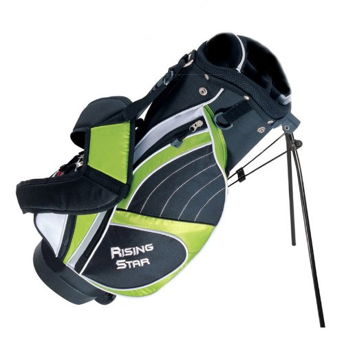 Paragon Rising Star Junior Golf Stand Bag 28'' Green
