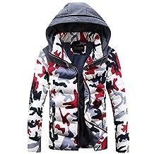 Cozy Age Mens Warm Hooded Winter Jacket Coat