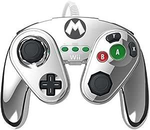 PDP - Mando Fight Pad Con Cable: Metal Mario (Nintendo Wii U ...