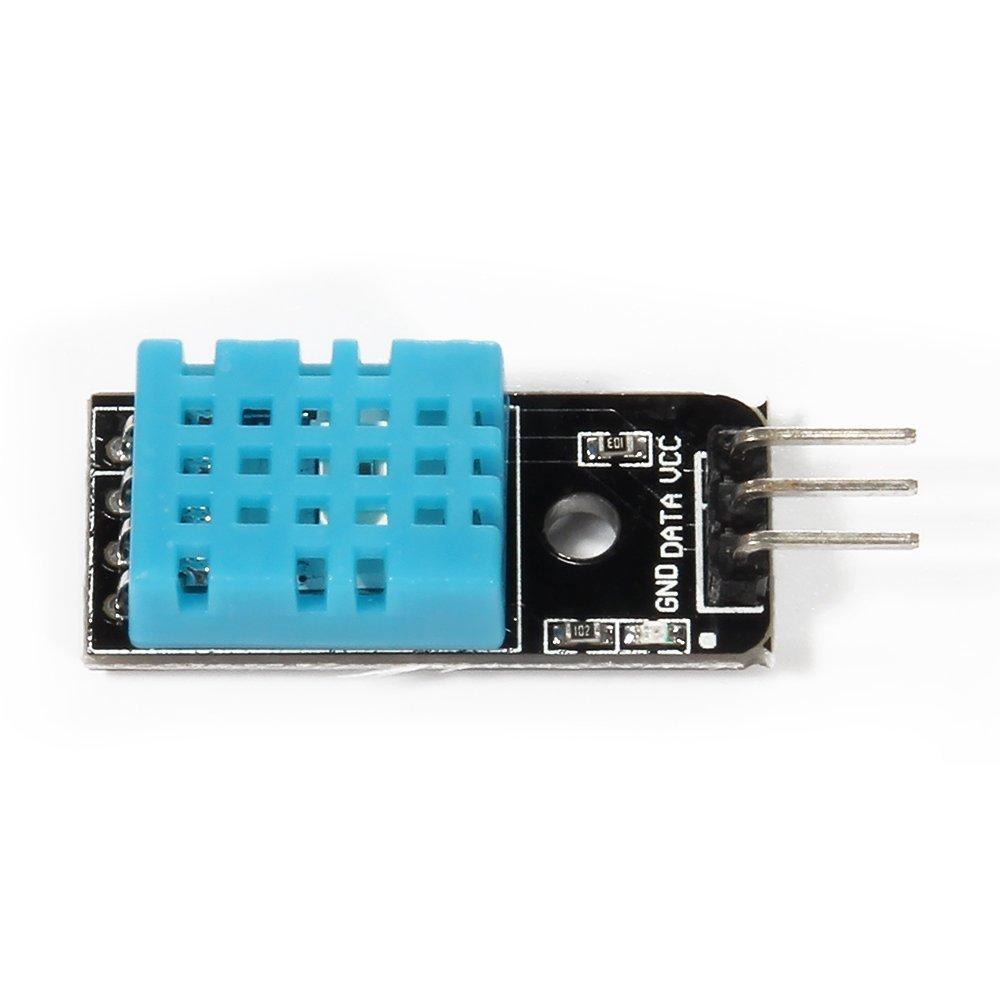 WINGONEER 5PCS of Temperature Humidity Sensor Module Digital DHT11 for Arduino Raspberry Pi 2 3