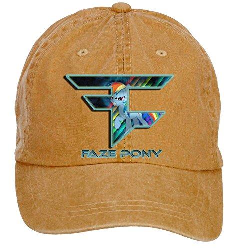 Tommery Unisex FaZe Clan Pony Hip Hop Baseball Caps