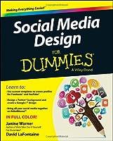 Social Media Design For Dummies Front Cover