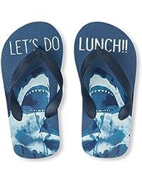 Kids' BB Shark FF Flat Sandal