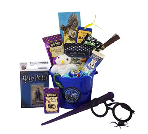 Harry Potter 'I Solemnly Swear I Am up to No Good - Happy Easter ' Candy and Toy Gift Basket