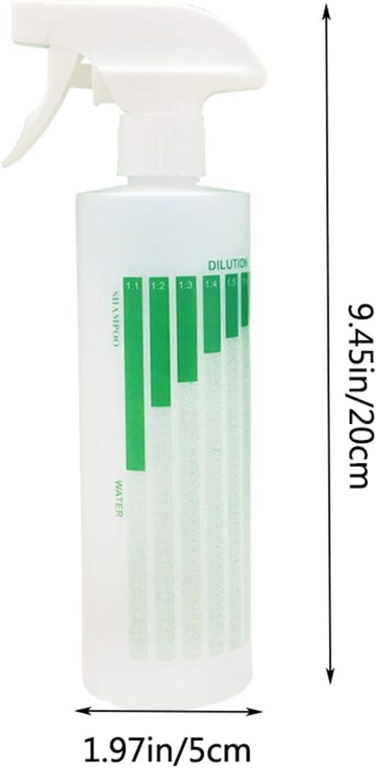 Cooler Pioneer a prova di perdite giardinaggio Verde spray vuoti per la pulizia confezione da 3 flaconi spray trasparenti Flacone spray da 500 ml