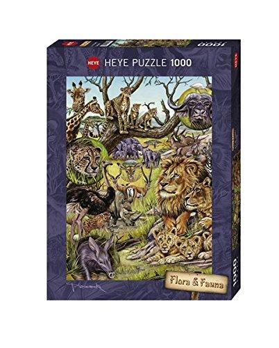 Heye Savannah 1000 Piece Marion Wieczorek Jigsaw (Savannah Cardboard Jigsaw)