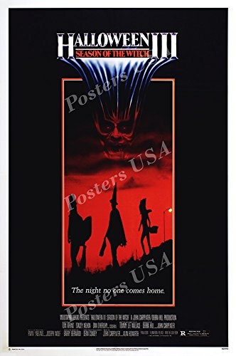 PremiumPrints - Halloween III Seaon of The Witch Movie Poster - XFIL901 Premium Canvas 11