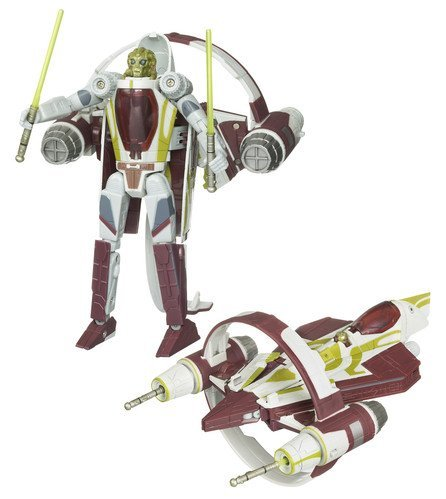 - Star Wars Transformers Crossovers - KIT FISTO Jedi Starfighter
