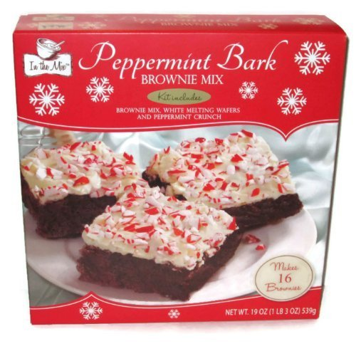 (In the Mix Peppermint Bark Brownie Mix (1 Box) by Mix No 6)