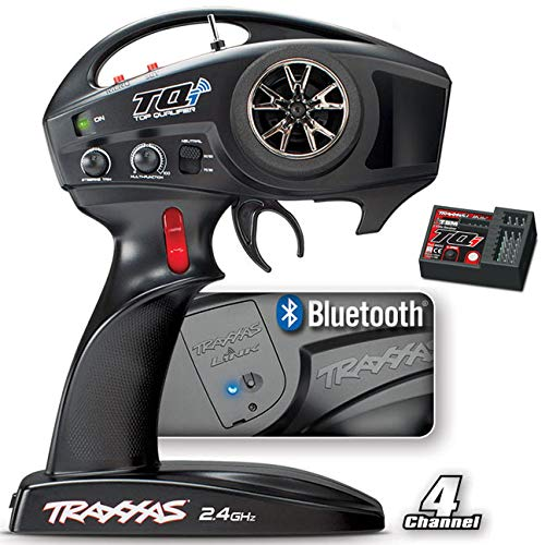 (Traxxas 6507R TQi 2.4 GHz High Output 4-Channel Radio System with Traxxas Link Wireless Module, TSM)