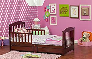 Amazon Com Dream On Me Mission Style Toddler Bed With