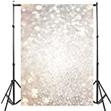 DODOING 3x5ft Fantasy Light Spot Halo Bokeh Photography Background Valentine's Day Wedding Hazy Bubble Photo Studio Backdrop Props