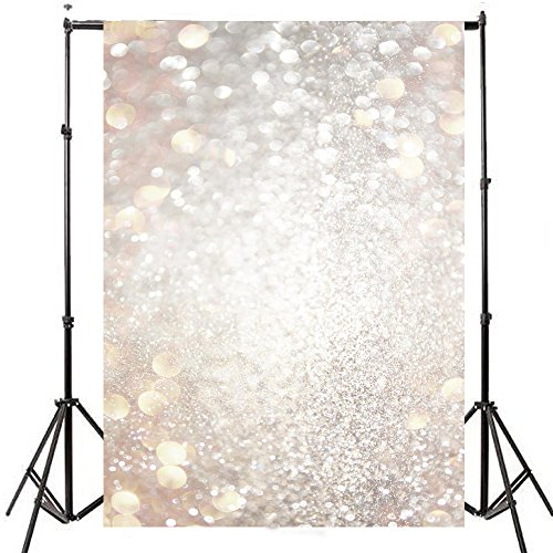 DODOING 3x5ft Fantasy Light Spot Halo Bokeh Photography Background Valentine's Day Wedding Hazy Bubble Photo Studio Backdrop Props by DODOING