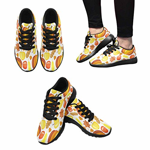 Interestprint Mujeres Jogging Running Sneaker Ligero Go Easy Walking Comfort Deportes Zapatillas De Running Multi 10
