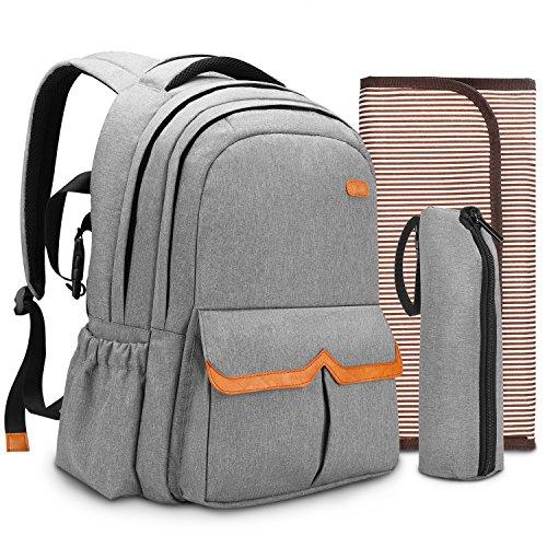 Diaper Bag Backpack, SPARIN Waterproof Skin-friendly Unisex