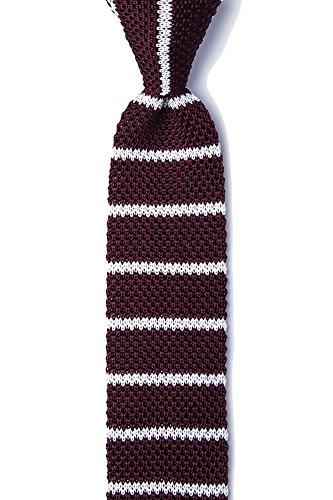 Men's Hipster 100% Silk Designer Classic Stripe 2.25