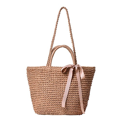 Demiawaking Paille Demiawaking d' Sac Femme Paille Sac OwFqZdZH