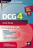 dcg 4 droit fiscal manuel et applications 2017 2018 11e ?dition lmd collection expertise comptable french edition