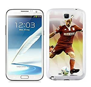 Customized Case Frank Ribery 3 White Case for Samsung Galaxy Note 2