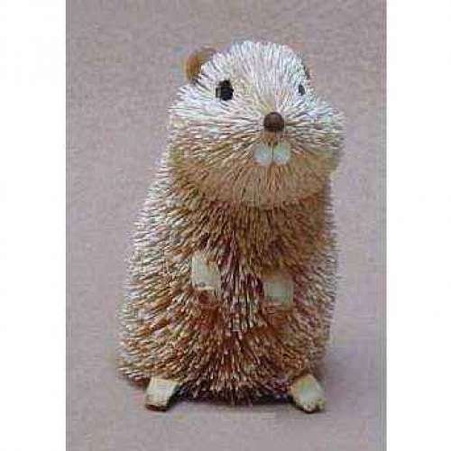 Christmas Tablescape Decor - Buri Brush Art Gopher Figurine by Brushart