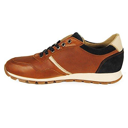 Wisconsin Sneaker Cordon Piel Jacinto