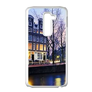 LG G2 Cell Phone Case Covers White amsterdam City T4377914