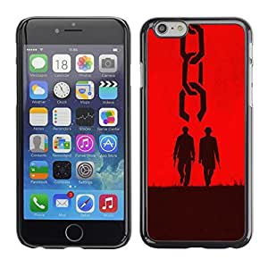 GagaDesign Phone Accessories: Hard Case Cover for Apple iPhone 6 Plus 5.5 Inch - Two Men Western