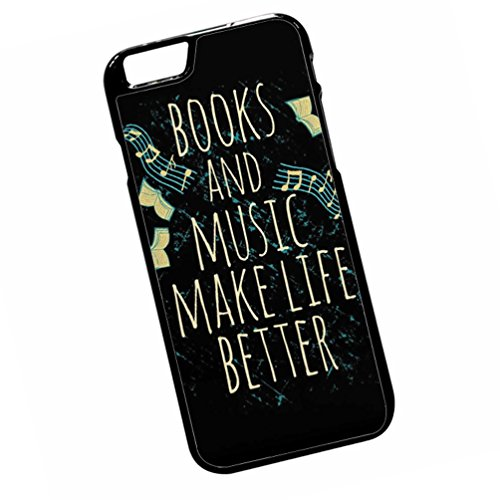 Books and music make life better 4 For iPhone 6 Plus - 6s Plus Case