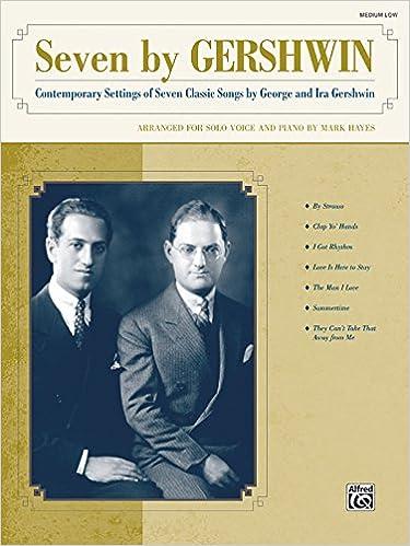 Ilmaiset kirjat lataavat epubin Seven by Gershwin (Medium/Low Voice) PDF
