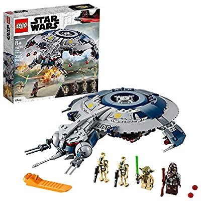 LEGO Star Wars: The Revenge of The Sith Droid Gunship 75233 Building Kit , New 2019 (329 Piece)