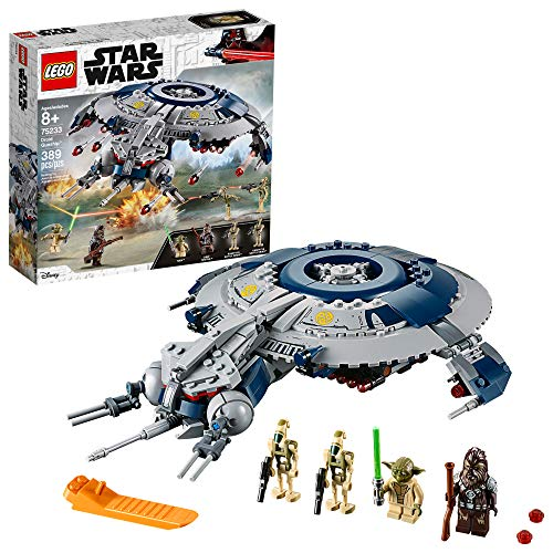 LEGO Star Wars: The Revenge of The Sith Droid Gunship 75233 Building Kit, New 2019 (389 Piece)