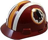 MSA NFL Ratchet Suspension Hardhats - Washington Redskins Hard Hats
