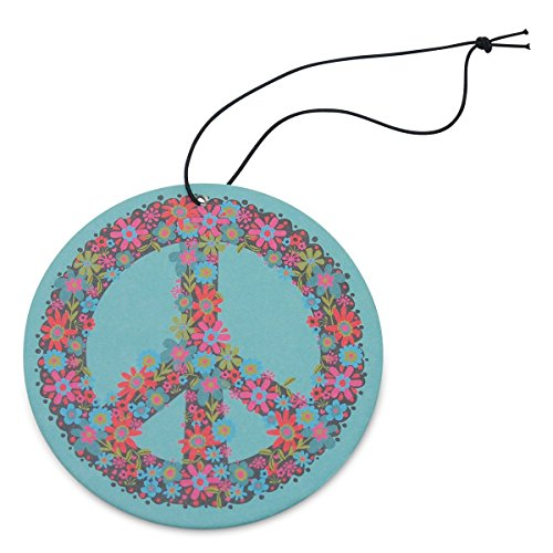 Natural Life AFR043 Blue Peace Sign Air Freshener , Pack of 3 (Natural Life Air Freshener)