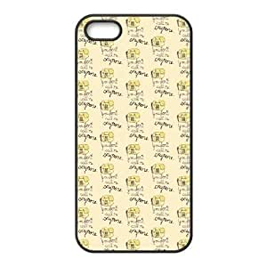 iPhone 5 5s Cell Phone Case Black You Do Not Call Me Anymore LV7972502