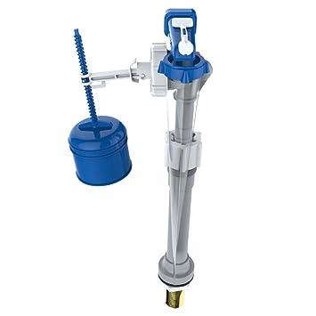 Thomas Dudley 324302 1/2-inch 15 mm latón Hydroflo válvula de flotador de entrada inferior ajustable Entrada, azul, color blanco: Amazon.es: Bricolaje y ...