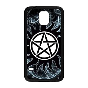 Durable TPU Rubber Silicon Cover Case for Samsung Galaxy S5, Supernatural LCS5U41