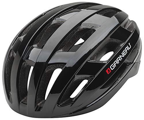 Louis Garneau Hero Adjustable, Lightweight, CPSC Safety Certified Bike Helmet for Men and Women, Black, ()