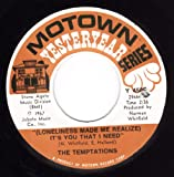 I Wish It Would Rain/(Loneliness Made Me Realize) It's You That I Need (NM 45 rpm)