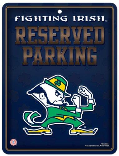 NCAA Notre Dame Fighting Irish Hi-Res Metal Parking - University Park Mall