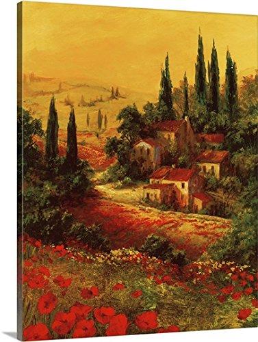 Art Fronckowiak Premium Thick-Wrap Canvas Wall Art Print entitled Toscano Valley I 24