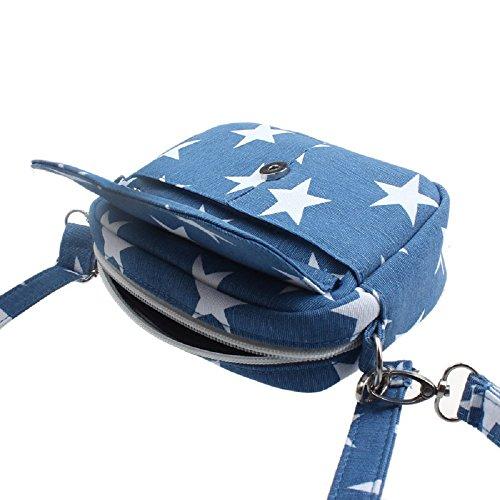 Mini Shoulder Blue Messenger Light Women Rcool Girl Women Small Cross Bag Body Bag Shoulder Totes Bags Purse Handbag wT87x7Y1q