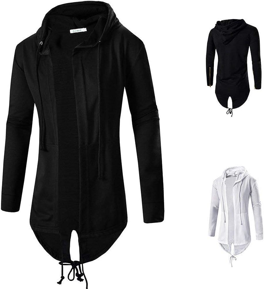 Lannister Fashion Cardigan /À Manches Longues De Couleur Longues Waistcoat Manches Unie /À /À Manches Longues pour Hommes