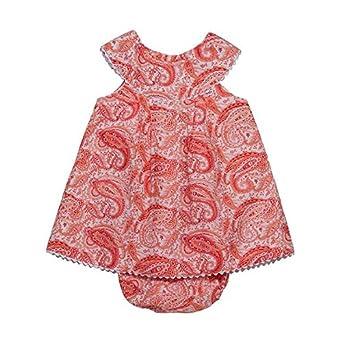 21e659a2a675 Amazon.com  Paisley Red Baby Dress  Clothing