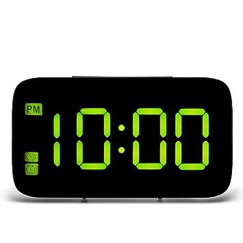 Escritorio Reloj Digital USB Reloj de Mesa, de Carga del LED de ...