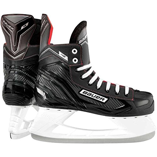 Bauer Nsx Senior Ice Hockey Skate Black/Red 12 by Bauer NS Senior Hockey Skates