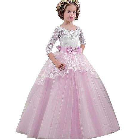 7378b872f6a4e お姫様コスチューム Aliciga おとぎ話 ドレス 子供服 女の子 変装 レース 蝶結び かわいい プリンセス 結婚式 パフォーマンス