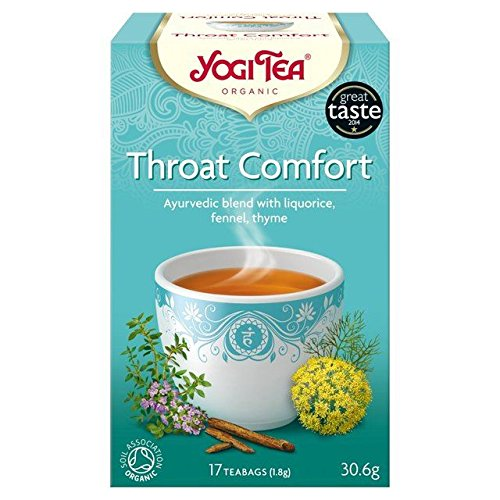 (Yogi Tea Throat Comfort Organic - 30g)